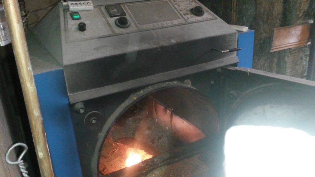 centrala termica pe lemne cu gazeificare atmos