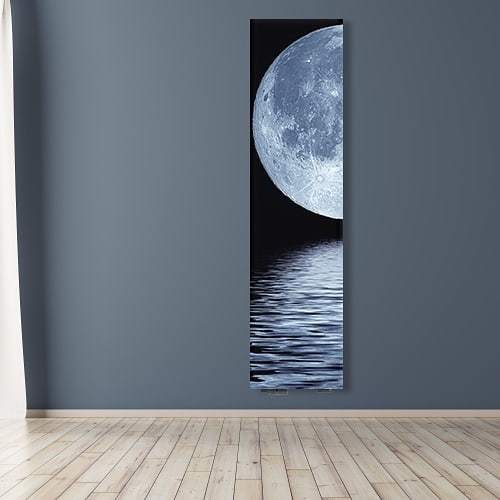 Calorifer decorativ Aluminiu Sticla Toplomashinex Moon 400 1000